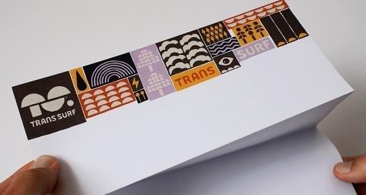 Trans Surf   Branding Design   A-Side #stationary #letterhead #identity #branding