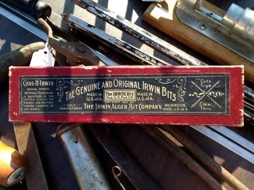 Genuine and Original Irwin Bits #packaging #design #vintage #typography