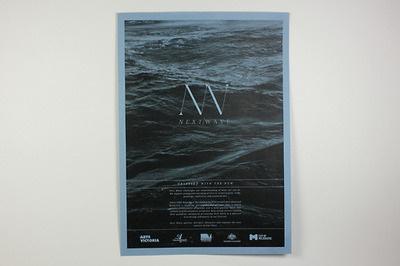 Next Wave Poster #cox #branding #j #next #wave #identity #declan