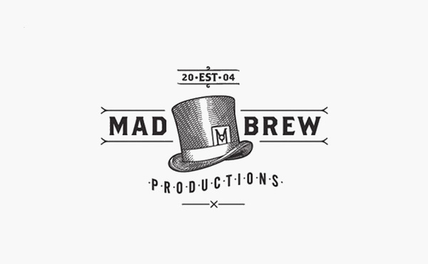 mad brew productions logo design #logo #design