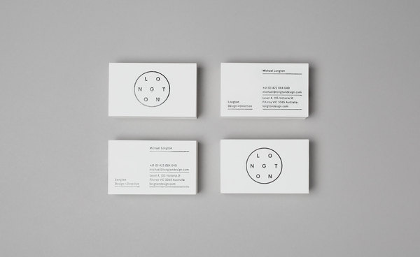 Longton Business Cards #stationery