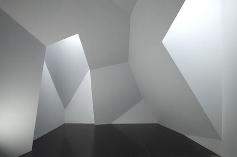 Anna Schwartz Gallery Works STEPHEN BRAM #space #triangle #architecture #minimal #room