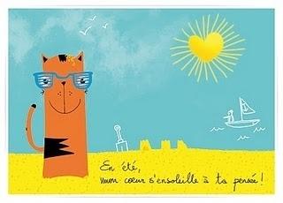 Isa's blog #illustration #summer #postcard