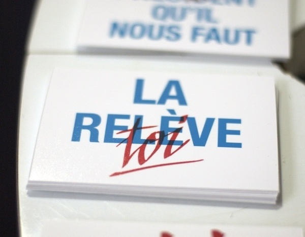 graphicwand #slogan #white #red #politic #sentence #blue #typography