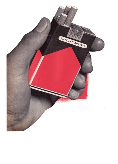 09-11 MIXED MEDIA - Jesse Draxler #blood #red #peligro #filter #cigarettes #jesse #draxler #omen #collage