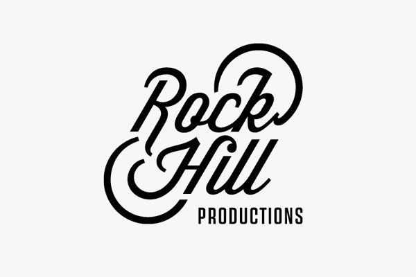 ROCK HILL PRODUCTIONS #hill #rock #productions #logo #wisdom #identity #typeface #records #music #type #california #typography