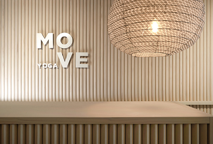 MOVE Yoga by Thomas Williams & Co. #photography #logo