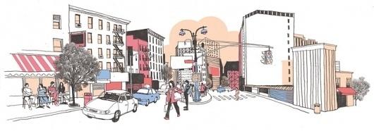 Josh Cochran: work #city #illustration