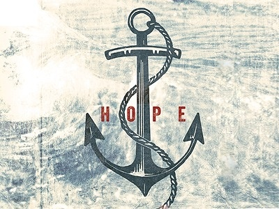 Dribbble - Hope by Lindsey McCormack #anchor