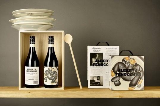 Olsson Barbieri #packaging #branding #vin