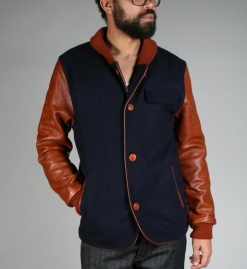 uniforms-for-the-dedicated-baseball-jacket-fw2010-1.jpg (500×545) #fashion #coat