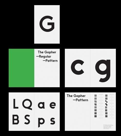 The Gopher Hole - Twelve #pattern #gopher #design #hole #hoxton #threebyfour #typography
