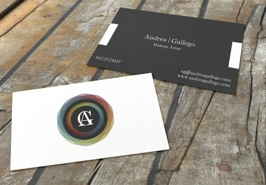Andrea Gallego Business Cards - Business Cards - Creattica #card #business