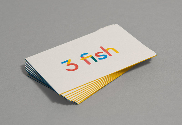 Best business cards fuffr 3 fish images on designspiration 3 fish business cards creative business modern print design graphic colourmoves