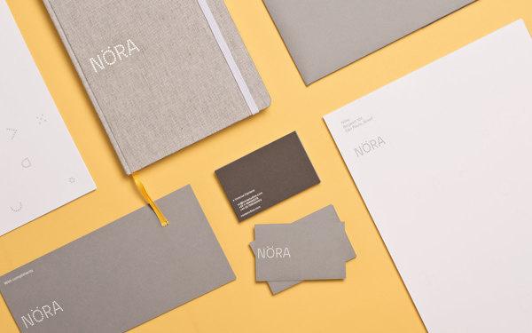 New Branding Design for Nöra Agency by Heydays #agency #branding #brand #fifa #minimal