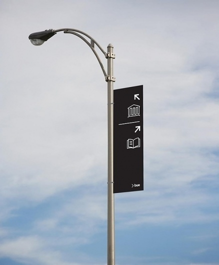 Between | User experience design #signage #system