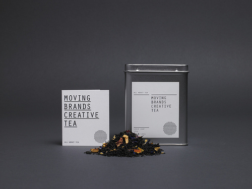 Moving Brands All About Tea 'Creative Tea' #packaging #identity #tea