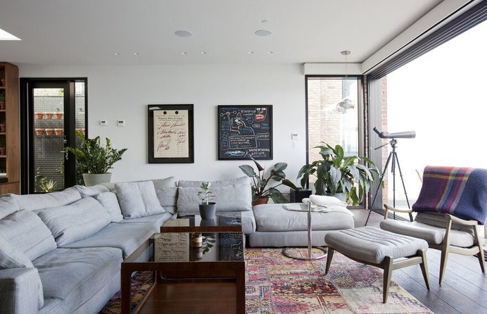 living room, Evoke International Design