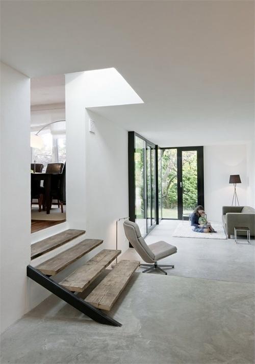 minimalistisch. #interior #concrete #white #home
