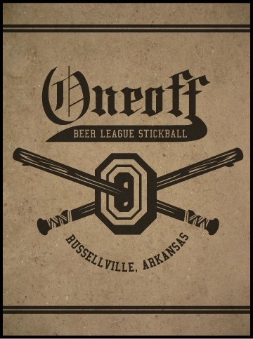 Oneoff Nation #beer #stickball #leauge #oneoff
