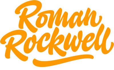 Type and Lettering: Roman Rockwell #logotype #ken #lettering #house #barber #industries