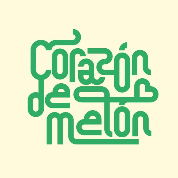 Corazón de melón Lettering Collection on Behance by Sergi Delgado #modular #lettering #delgado #design #graphic #geometric #poster #custom #type #sergi #typography
