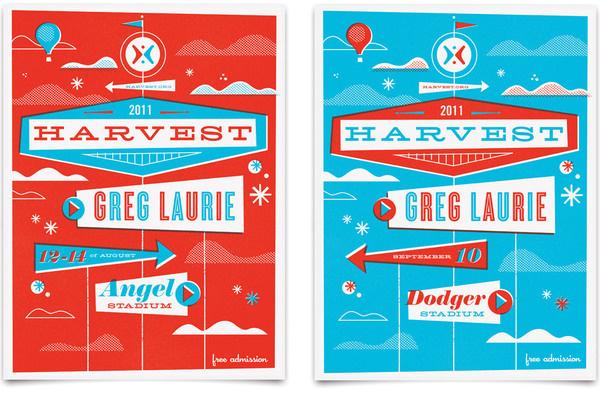 Mattson Creative #design #retro #letterpress #poster