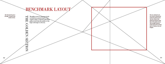 Benchmark book layout - Zach Johnson Design
