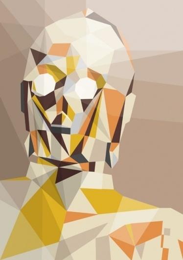 Liam Brazier illustration and animation #print #wars #illustration #triangle #star