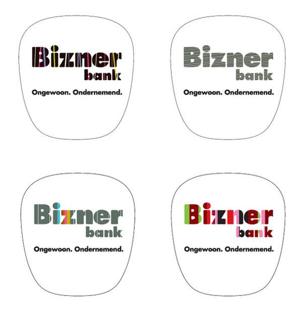 ❦ Bizner identity www.pepijnrooijens.com #logo #bank