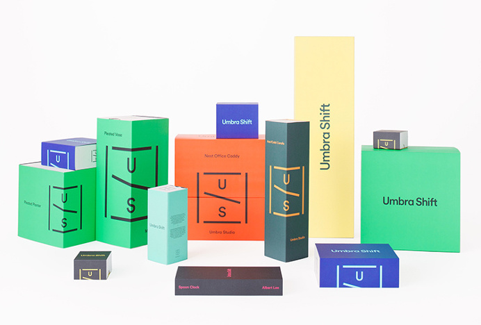 Umbra Shift by Post Projects #packaging #graphic design