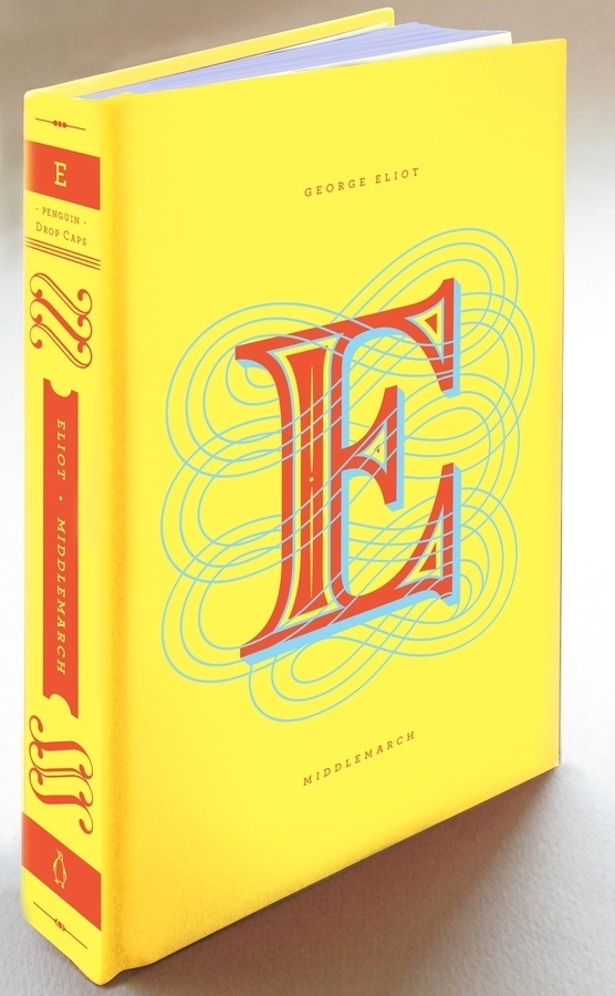 E #hische #yellow #book #cover #drop #cap #jessica #daily #type