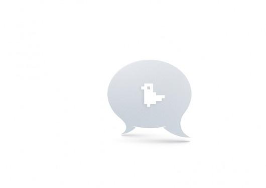 simple conversations * : welcom to La La Land #bubble #vector #pixle
