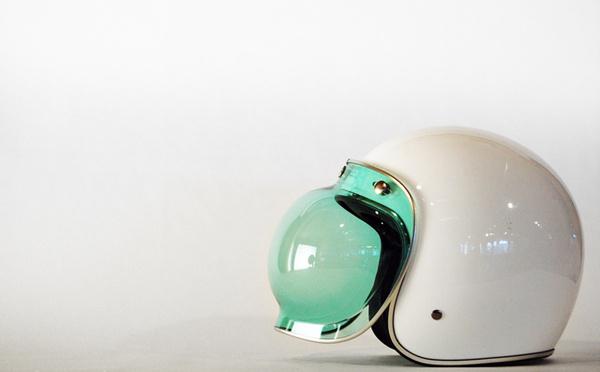 Futuristic Bubble Visor Helmet Knstrct 100 #helmet