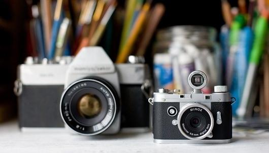 Minox's Micro-Sized Retro Chic Digital Camera Is Like Mini Leica | Co.Design #camera #micro #retro #minox #digital #sized