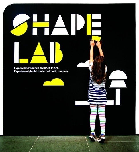 The Department of Advertising and Graphic Design #lab #design #graphic #exhibition #shape #moma