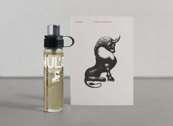 Formulæ Perfume on Behance #packaging #perfume #illustration #bull