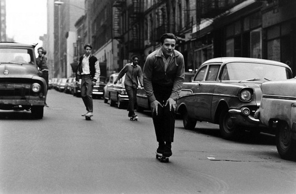 billeppridgeskateboardinginnyc_11.jpeg #b&w #oldschool #skateboard #1960s #york #nyc #new