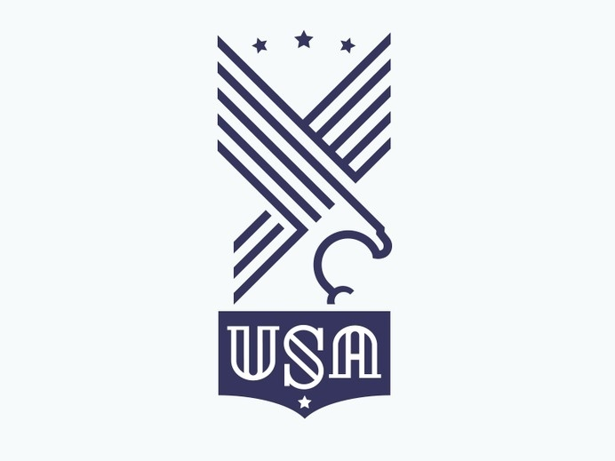 USA all the way. #badge #strenth #stripes #seal #eagle #stars #usa