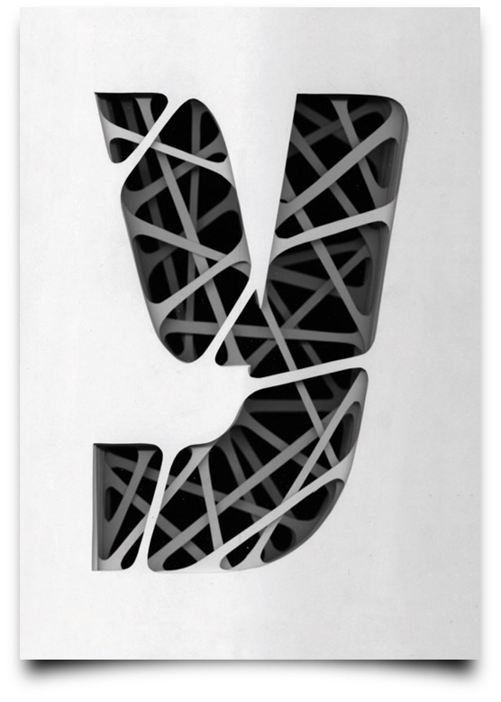 type scan alphabet on Typography Served #letter #type