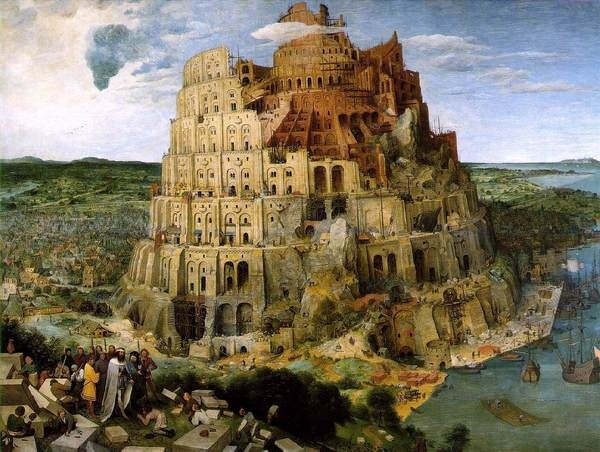 File:Brueghel tower of babel.jpg #brueghel #babel #tower