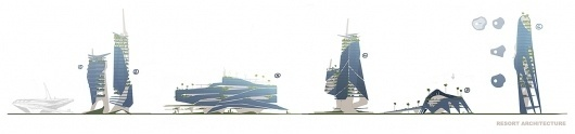 BRINK Official Game Site | Media | Concept Art #arcology #concept #architecture #art