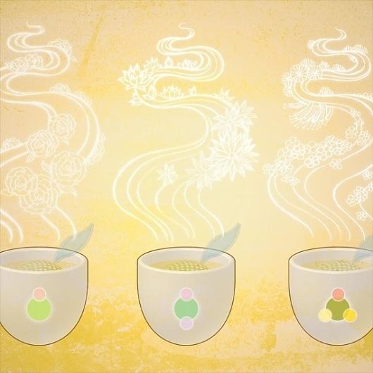 Zhenvision - OOOQ Tea Kit #illustration #graphic #tea #branding