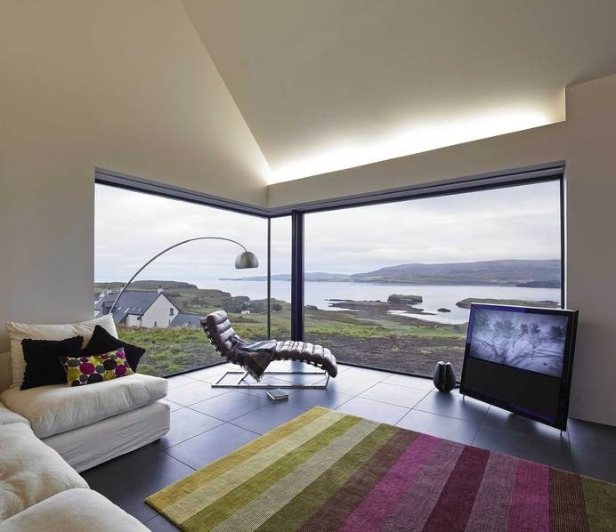 Skye Island house inspired by Scottish farm barns - HomeWorldDesign (10) #scotland #architecture