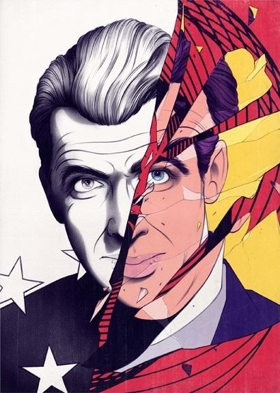 James Stewart Vertigo - Andrew Archer #illustration #art