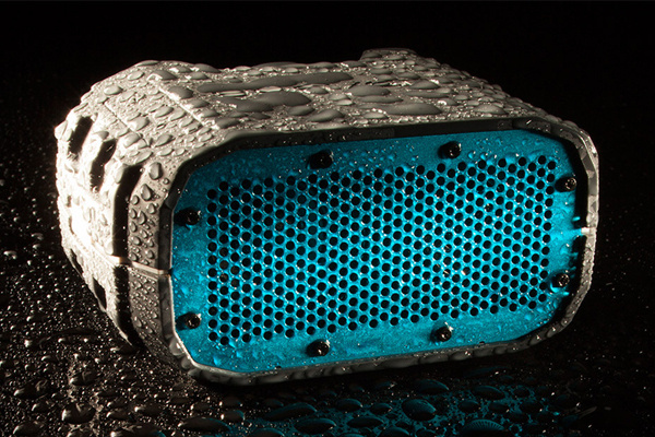 With waterproof bluetooth speaker bring music along on every adventure you embark on! #speaker #design #travel #product #industrial #fun