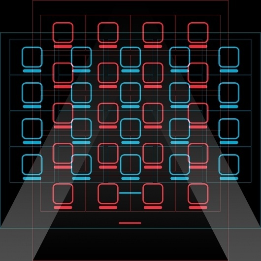 All sizes   iPad rotationproof icon-grid wallpaper   Flickr - Photo Sharing! #pattern #ipad #grid #insgraphizm #wallpaper