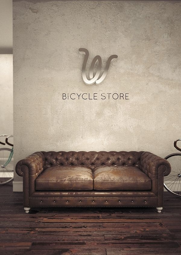 On wheels by misha jers #logo #design #identity #wheel