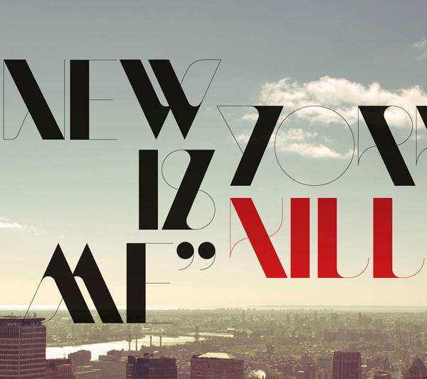 NewModern — Typeface on Behance #typeface