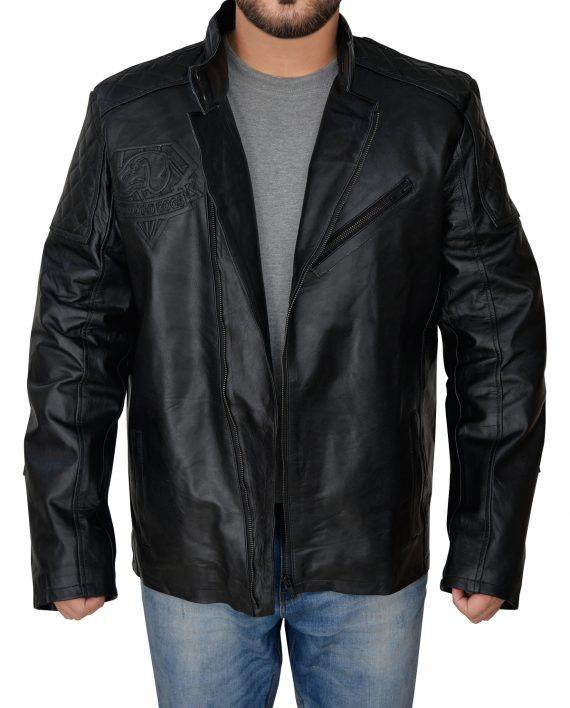 Metal Gear Big Boss Solid Snake Cosplay Jacket (1) F-O